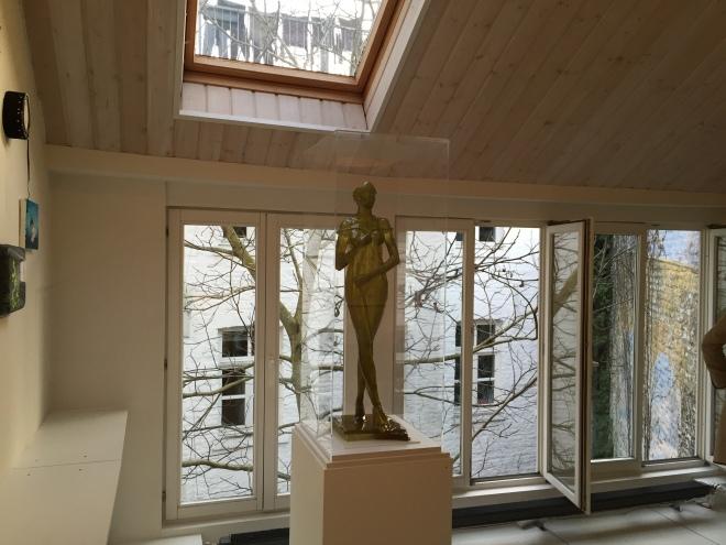 """In der """"Galerie Freitag 18.30"""", wo am Freitag eine Ausstellung eröffnet wurde."""