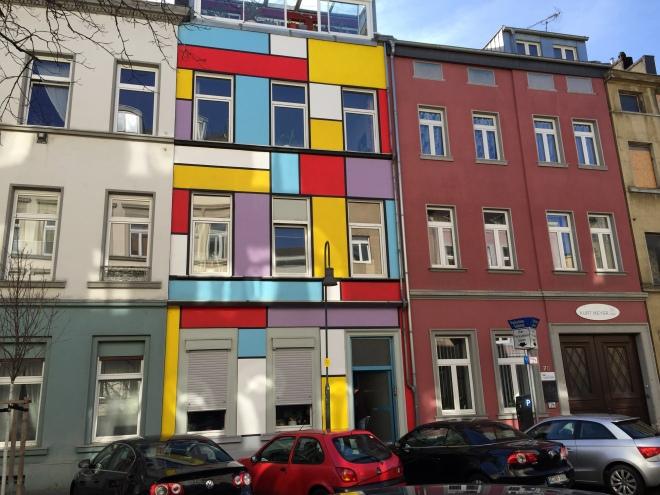 In der Aachener Ottostraße.