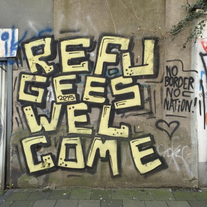 """Gesehen in der Lothringer Straße, Frühjahr 2016. Heute werden vermutlich eine Million Menschen die AfD wählen, die """"Alternative für Europa"""". Die ist nun eins gewiss nicht: eine Alternative zu irgendwas und auch nicht zu Europa. Die AfD wird bald wieder verschwinden, sagen die einen. Die AfD ist eine Reaktion auf eine liberale CDU und wird bleiben, sagen die anderen. Es kommen spannende Zeiten."""