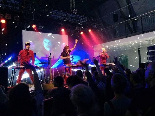 Die Band Fraktus in Stolberg. Foto: Henning Brinkmann