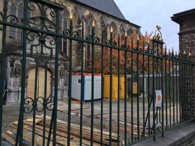 Außen eine Kirche, innen bald ein Archiv: St. Paul in der Jakobstraße in Aachen.